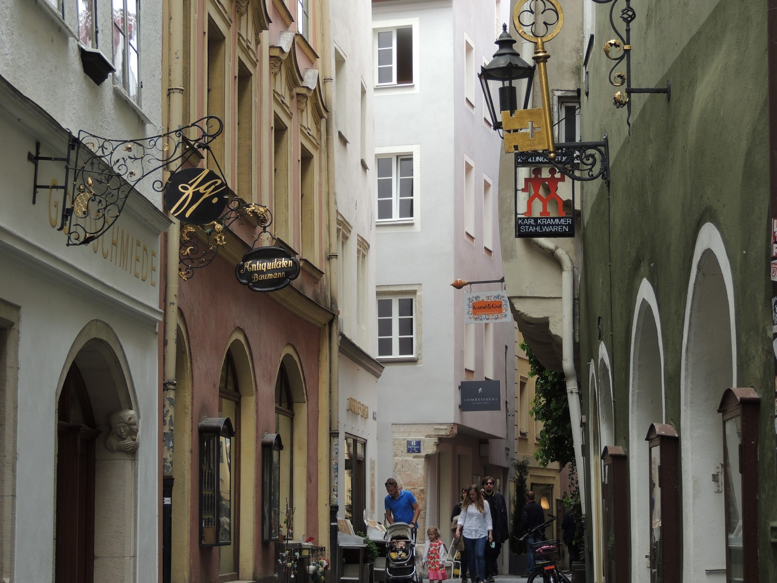 Regensburg - Kramgasse
