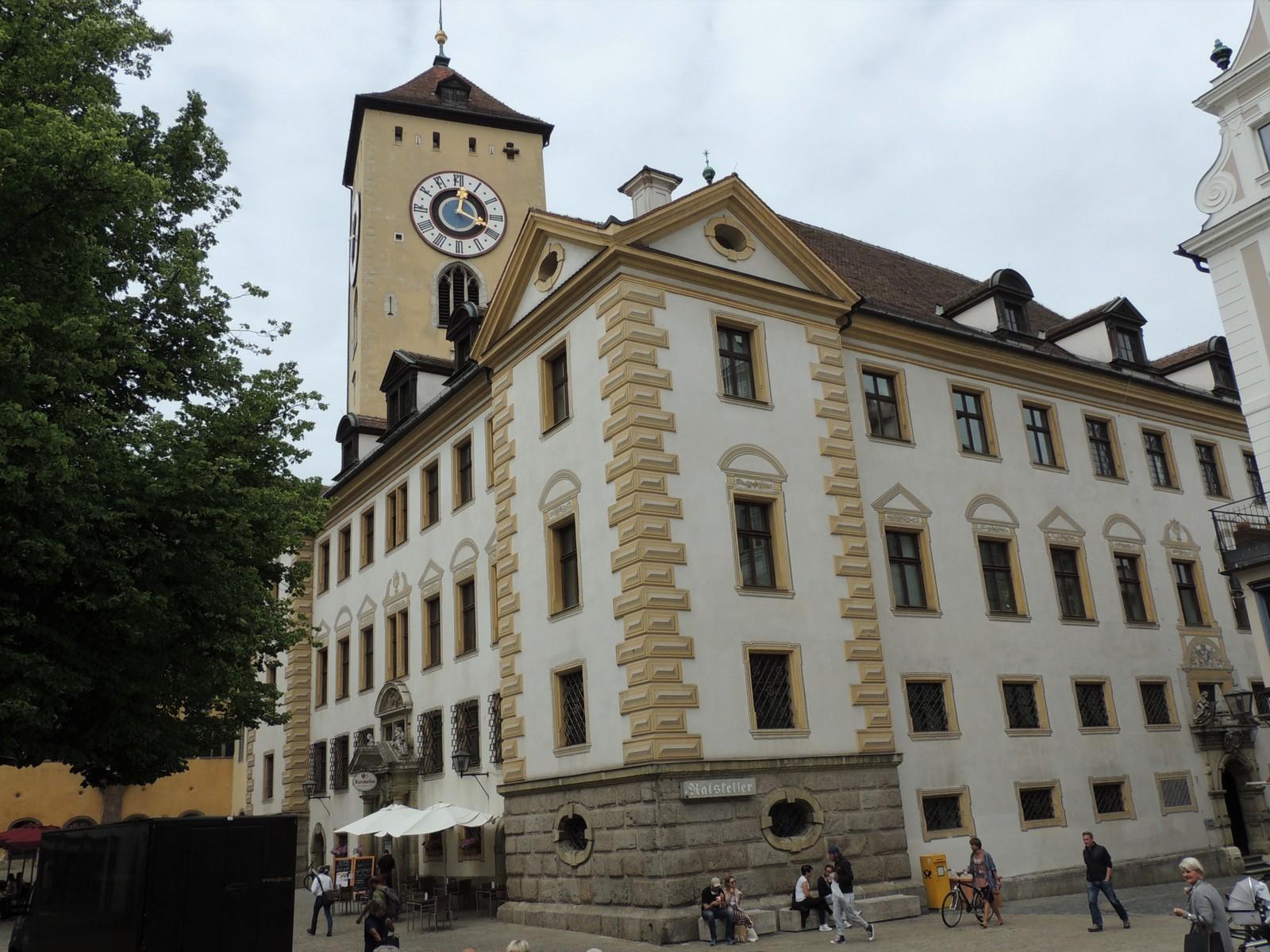 Regensburg - Barockanbau des Alten Rathaus