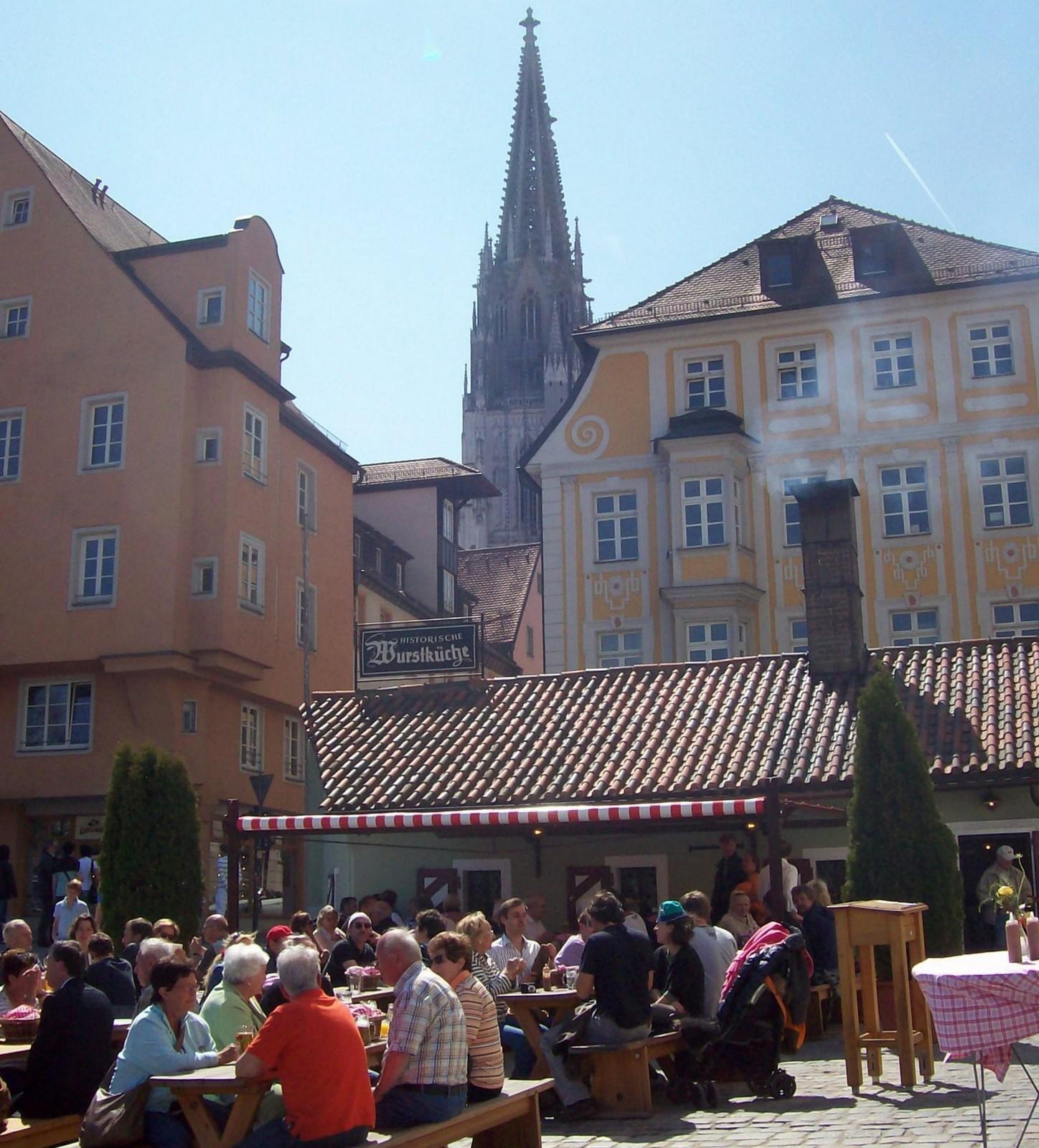 Regensburg - Historische Wurstkuchl