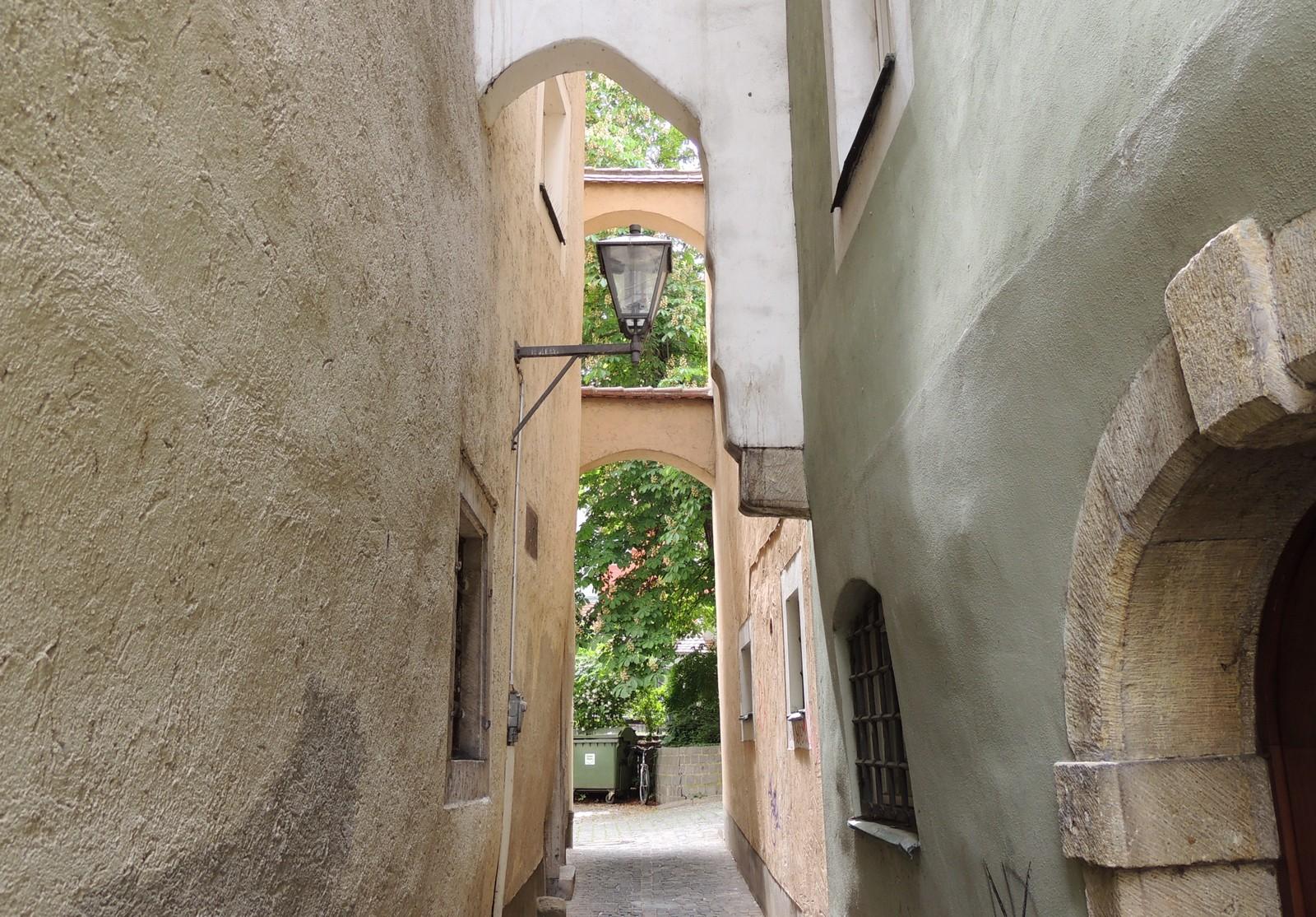 Regensburg - Silberne-Kranz-Gasse