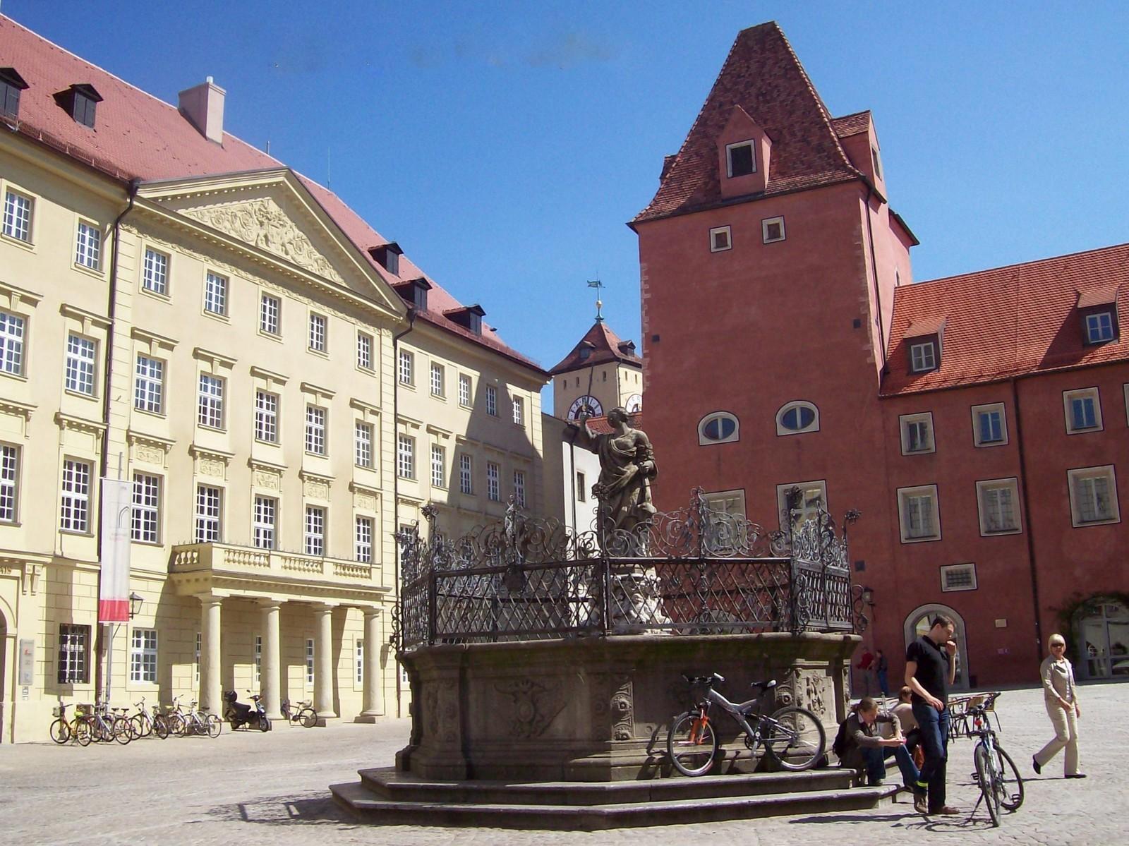 Regensburg - Haidplatz - Neue Waag