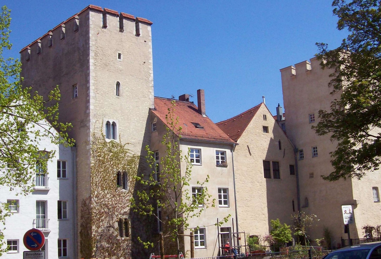 Regensburg - ehemaliges Gasthaus zum Blauen Hecht