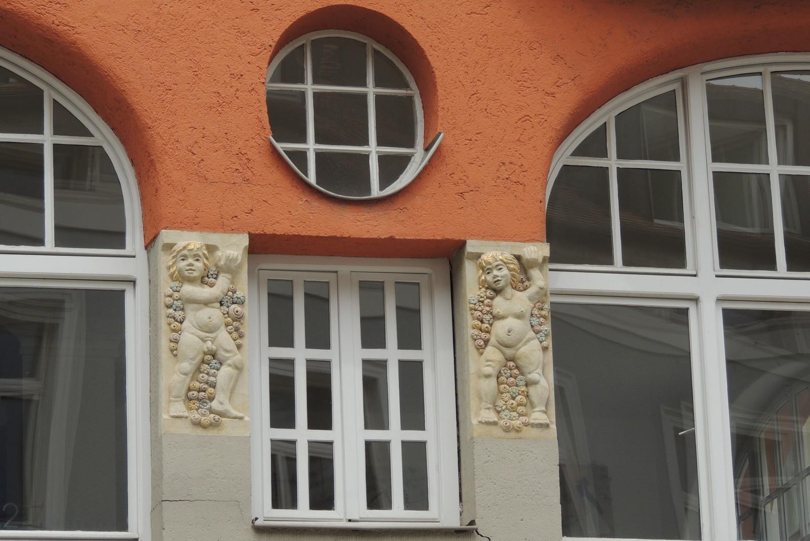 Fassade in der Oberen Bachgasse