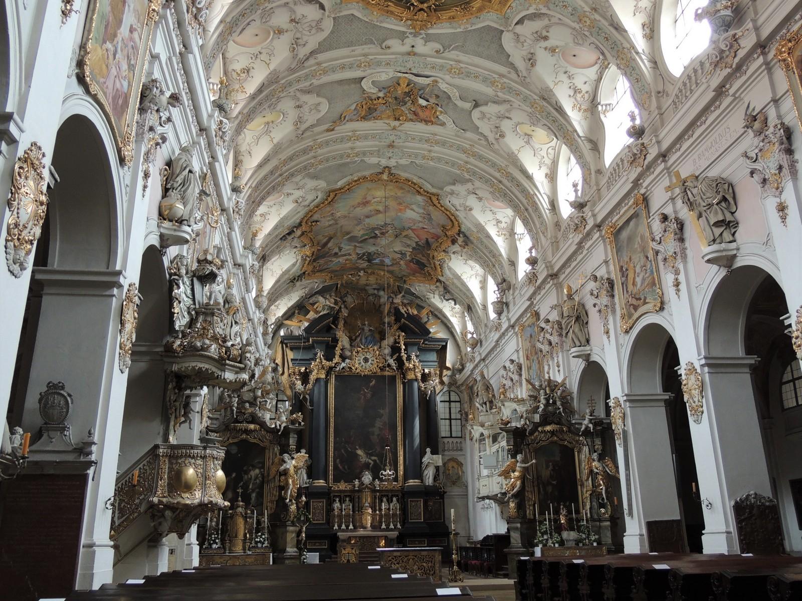 Regensburg - Basilika St. Emmeram.