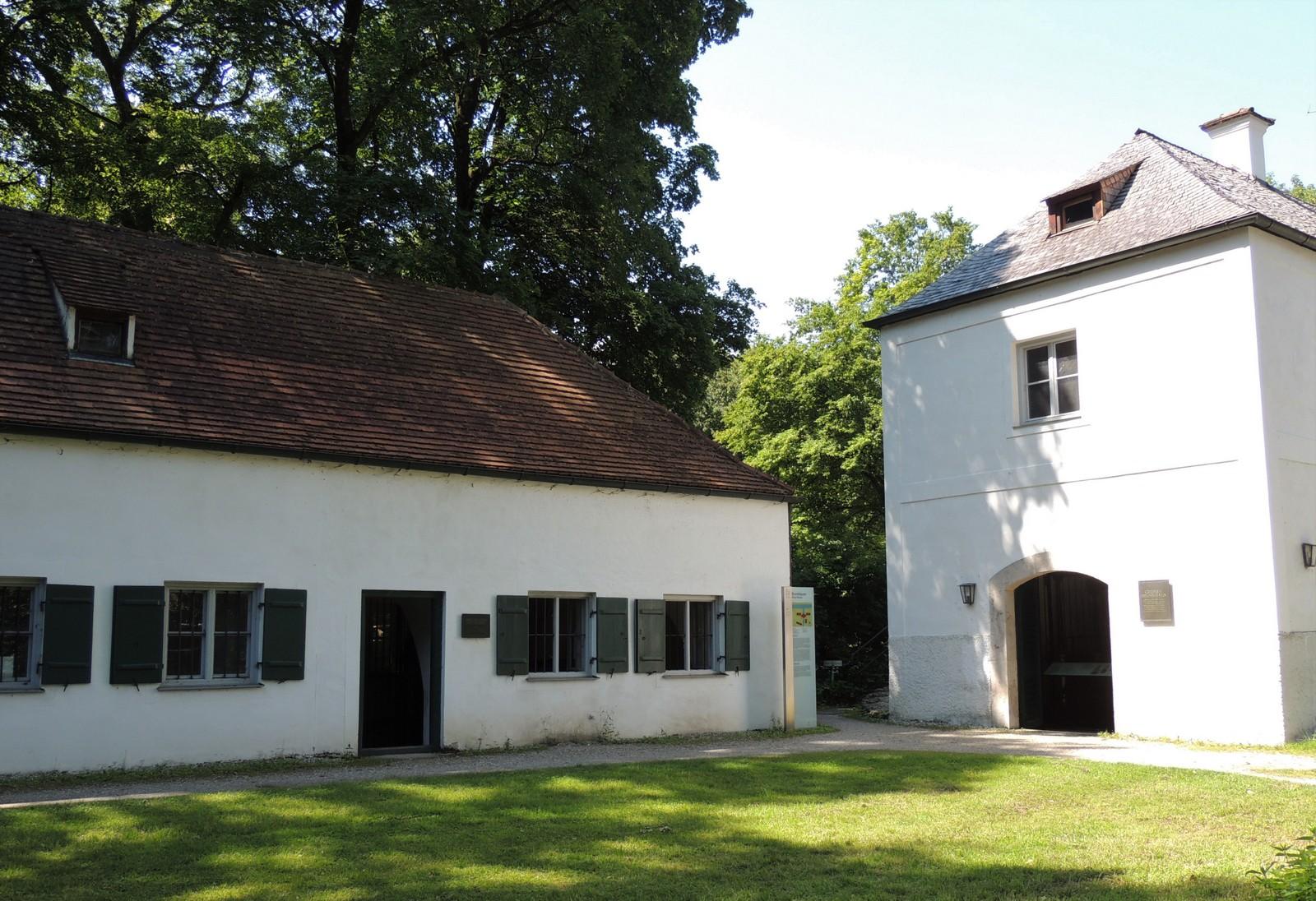 Das Dörfchen im Schlosspark Nymphenburg