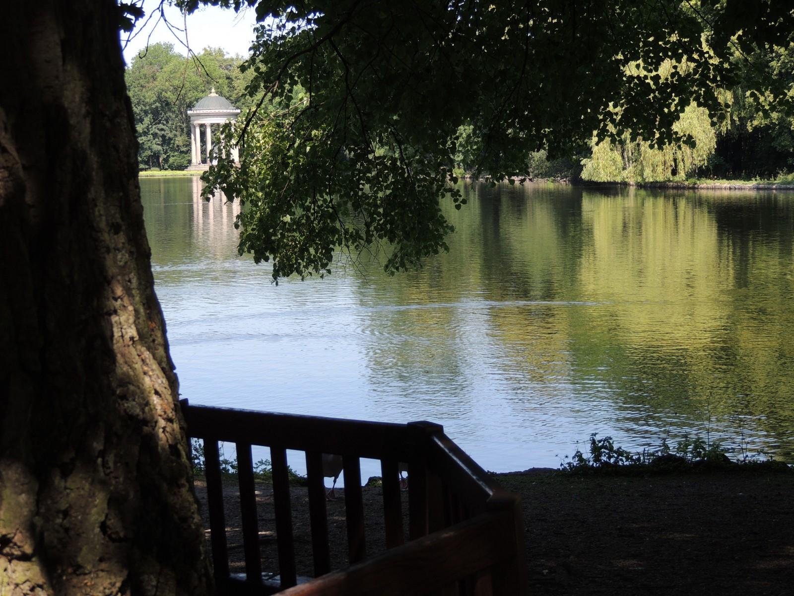 Apollotempel im Schlosspark Nymphenburg