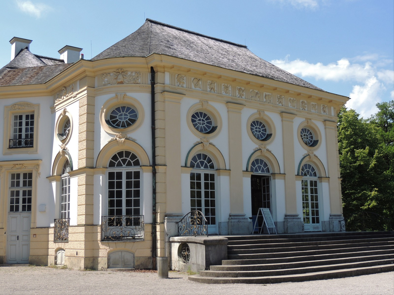 Badenburg im Schlosspark Nymphenburg