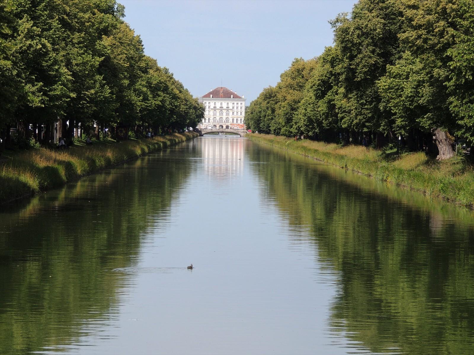 Schlosskanal in Nymphenburg