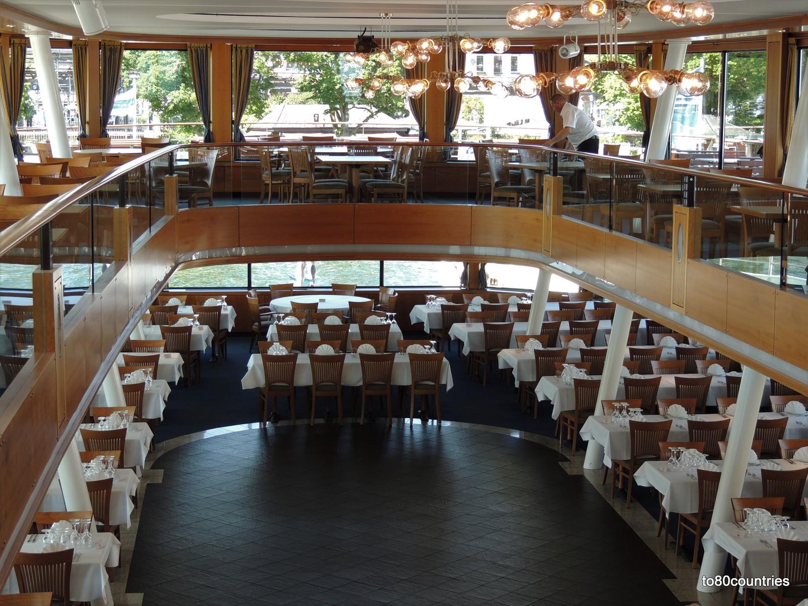 Katamaran Starnberg - Innenansicht