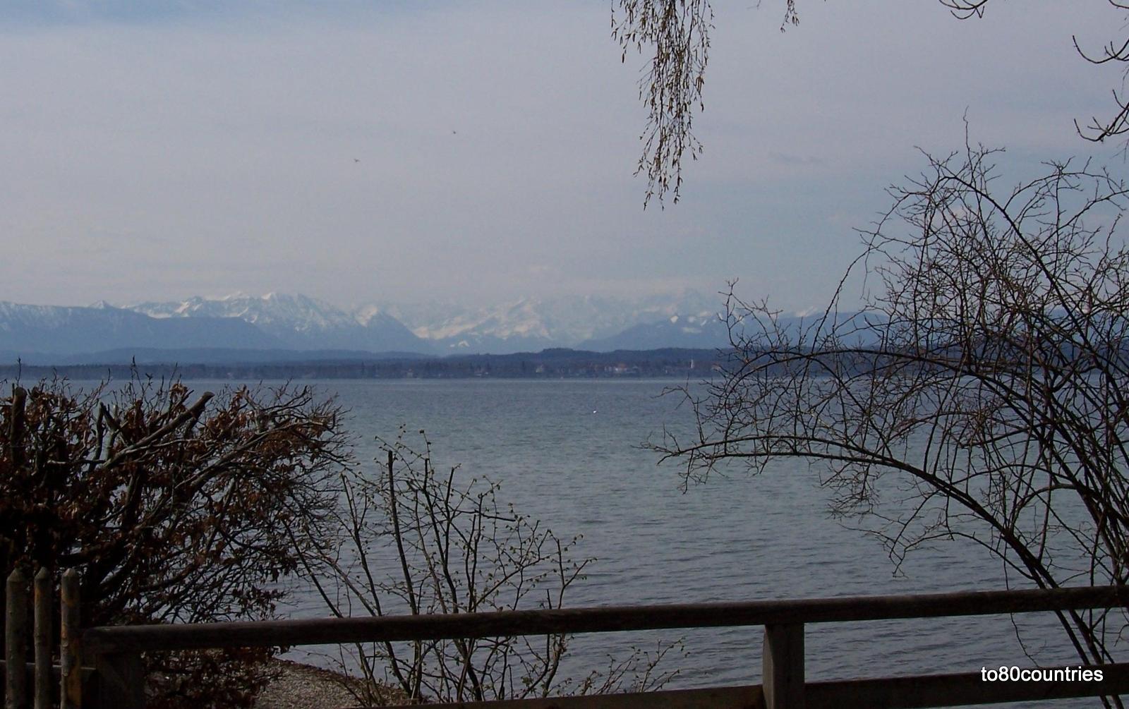 Starnberger See - Blick auf Seeshaupt