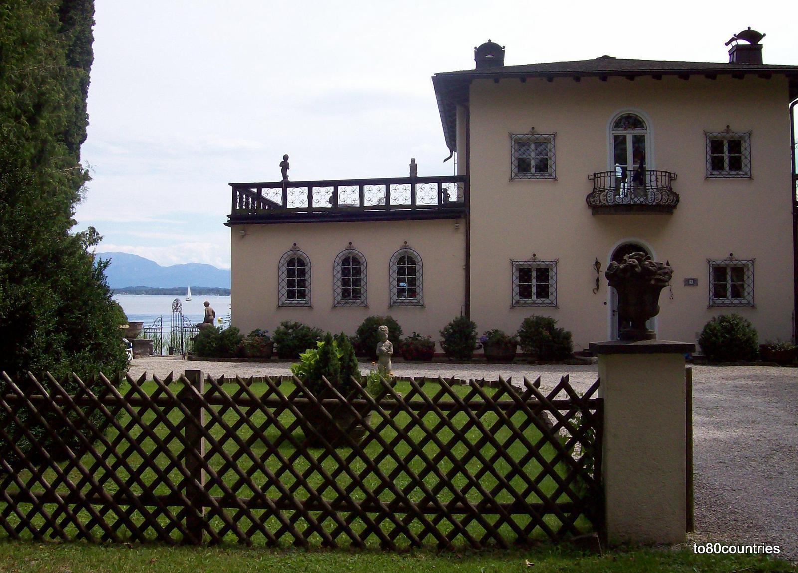 Starnberger See - Teehaus im Bernrieder Park