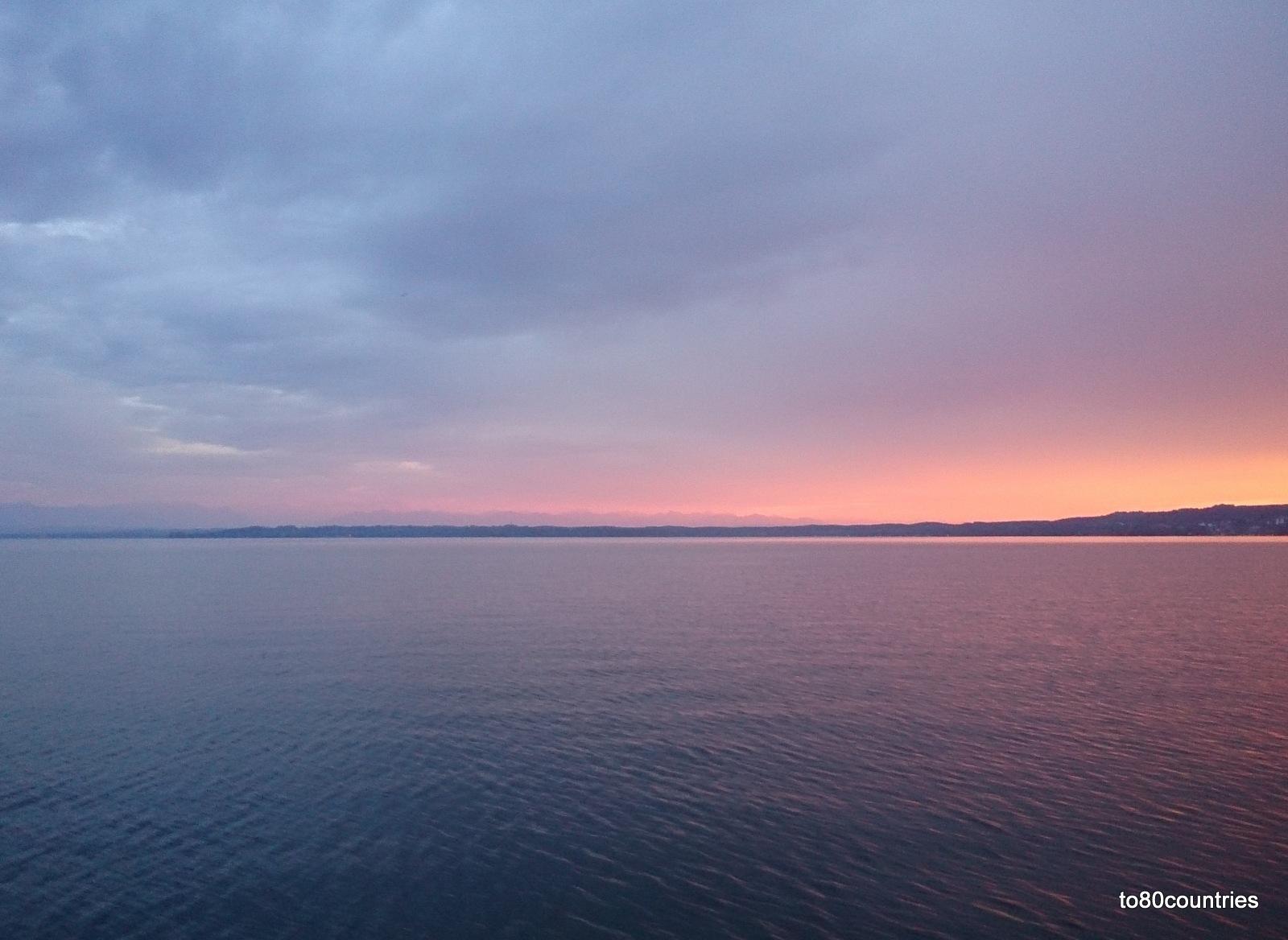 Starnberger See - Abendstimmung