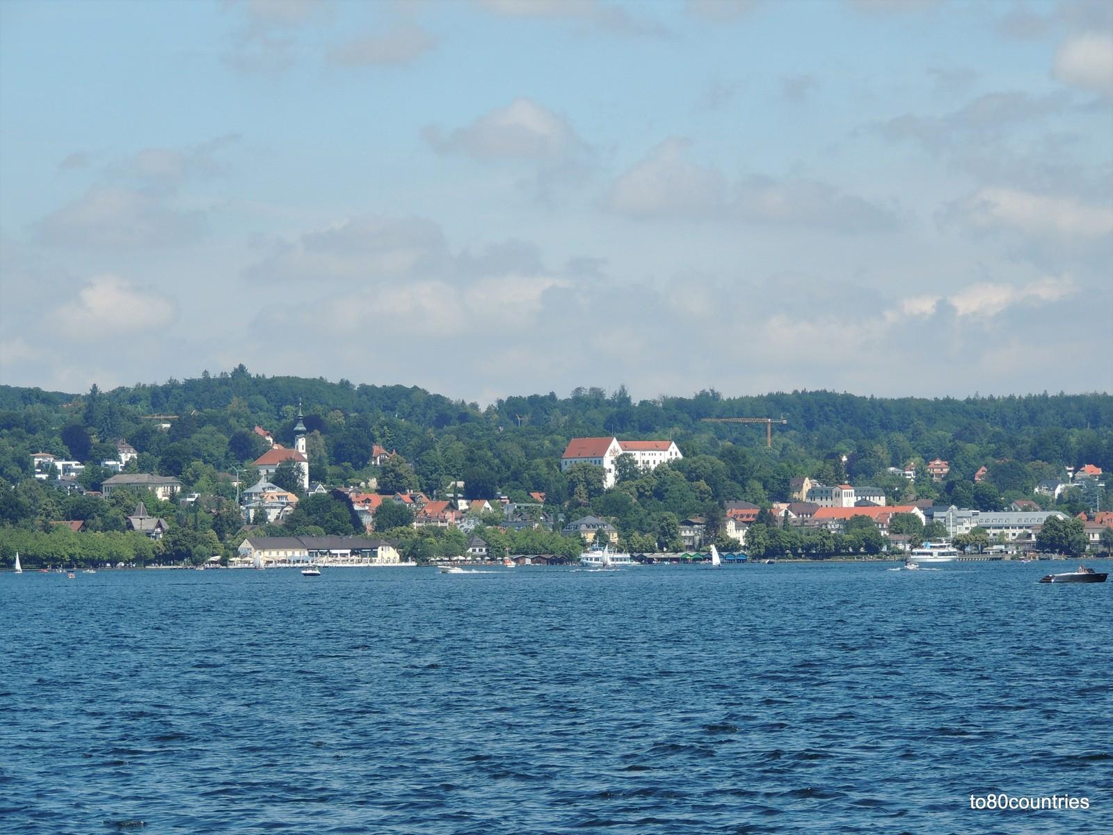 Starnberg mit Schloss