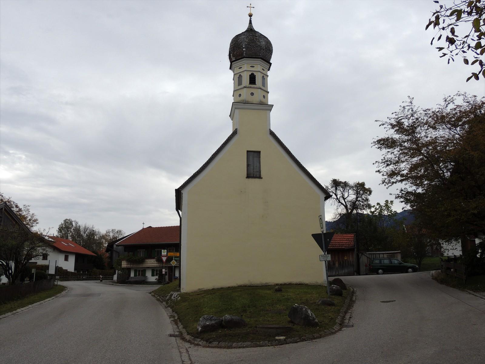 Maria-Hilf-Kapelle in Arzbach im Tölzer Land