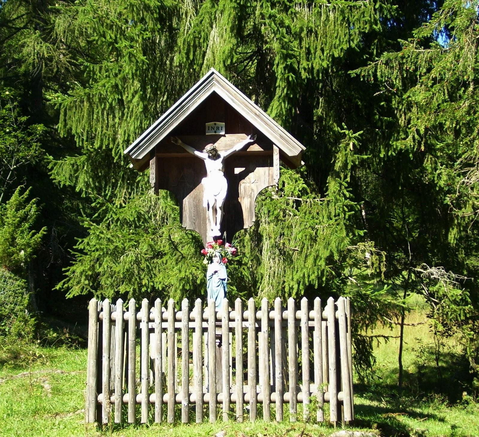 Kruzifix in der Jachenau - Tölzer Land