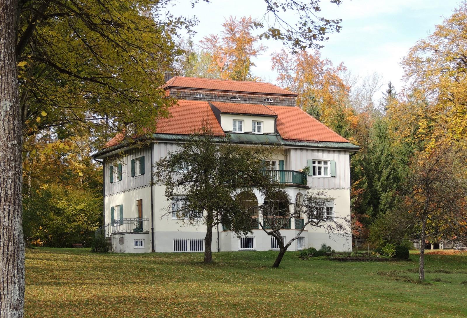 Landhaus von Thomas Mann in Bad Tölz