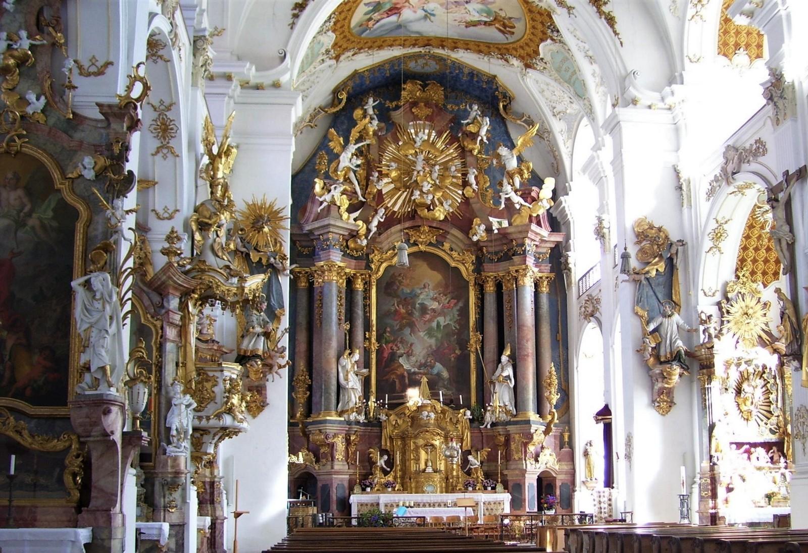 Klosterkirche Maria Himmelfahrt - Dietramszell im Tölzer Land
