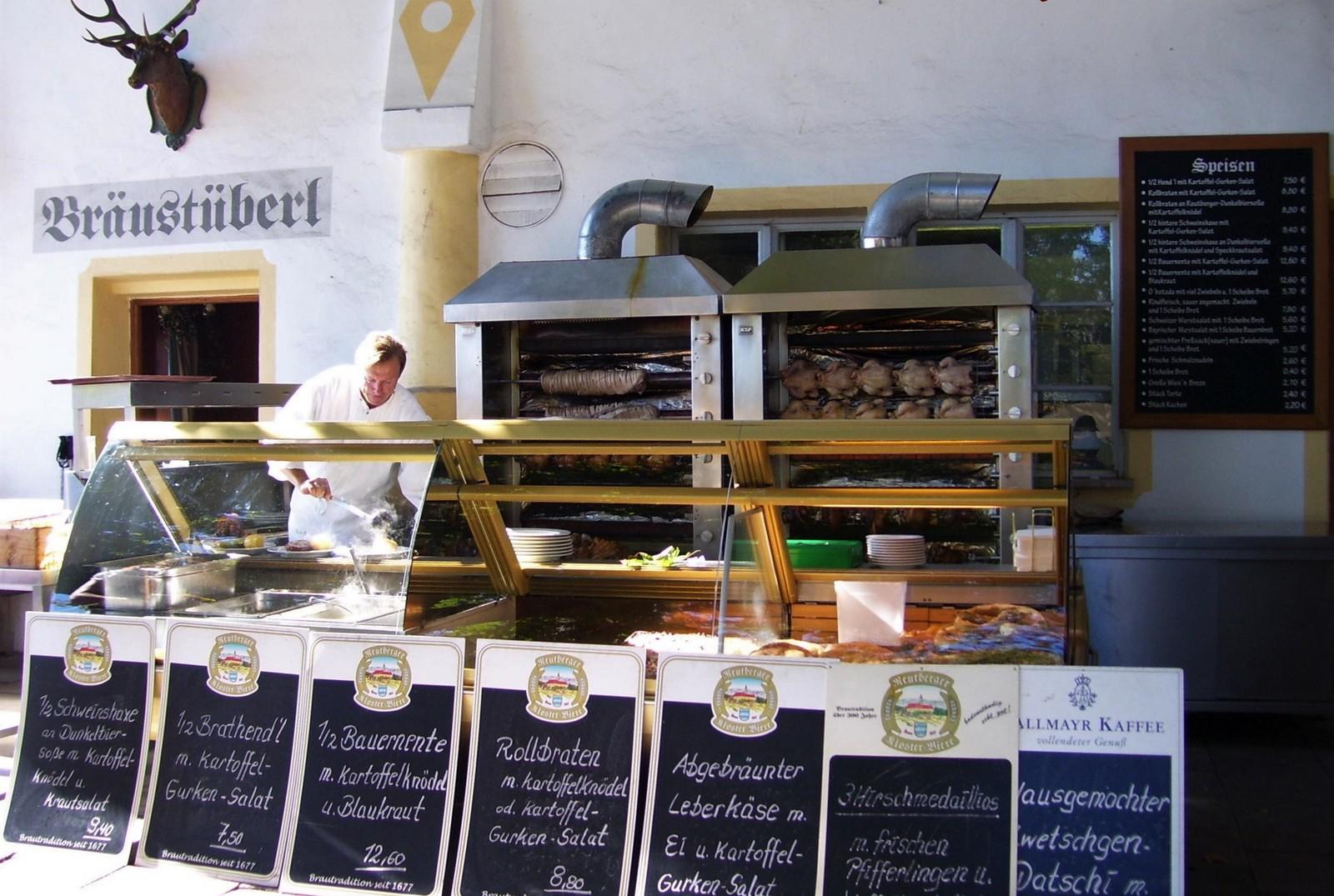Kloster Reutberg im Tölzer Land - Biergarten-Grill