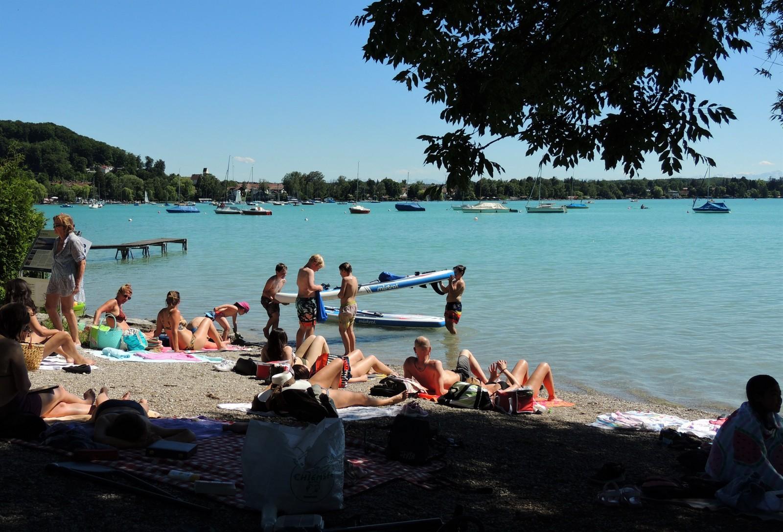 Fünf-Seen-Land - Strandpromenade Steinebach am Wörthsee
