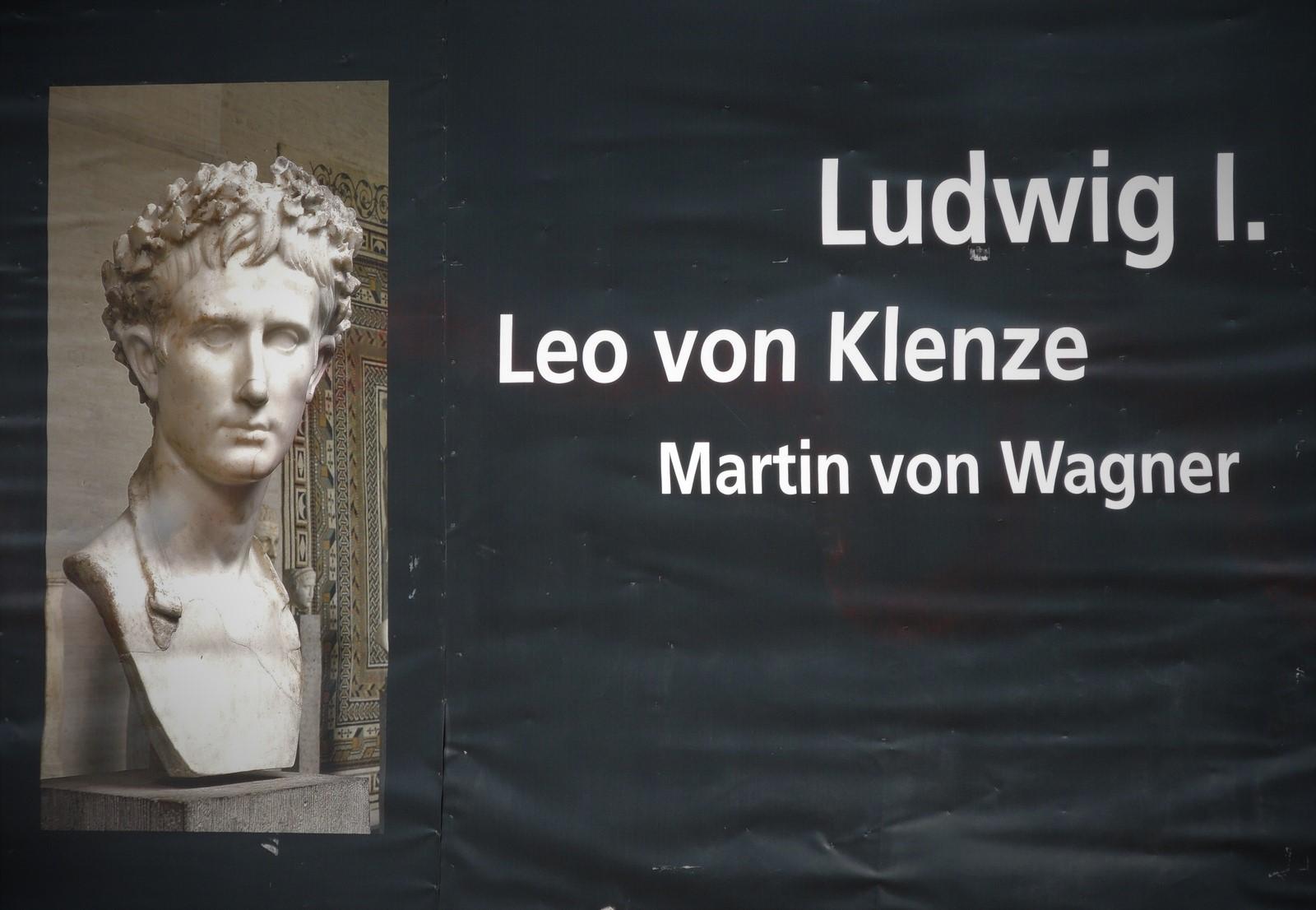 Ludwig I., Leo von Klenze, Martin von Wagner