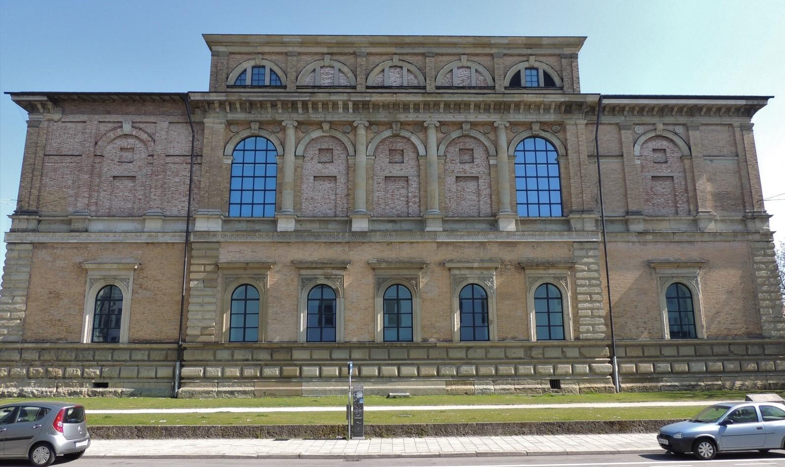 Alte Pinakothek - im Auftrag von Ludwig I. durch Leo von Klenze erbaut
