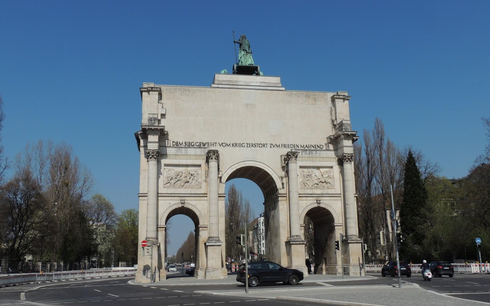 Siegestor - im Auftrag von Ludwig I. durch Friedrich Wilhelm Gärtner erbaut