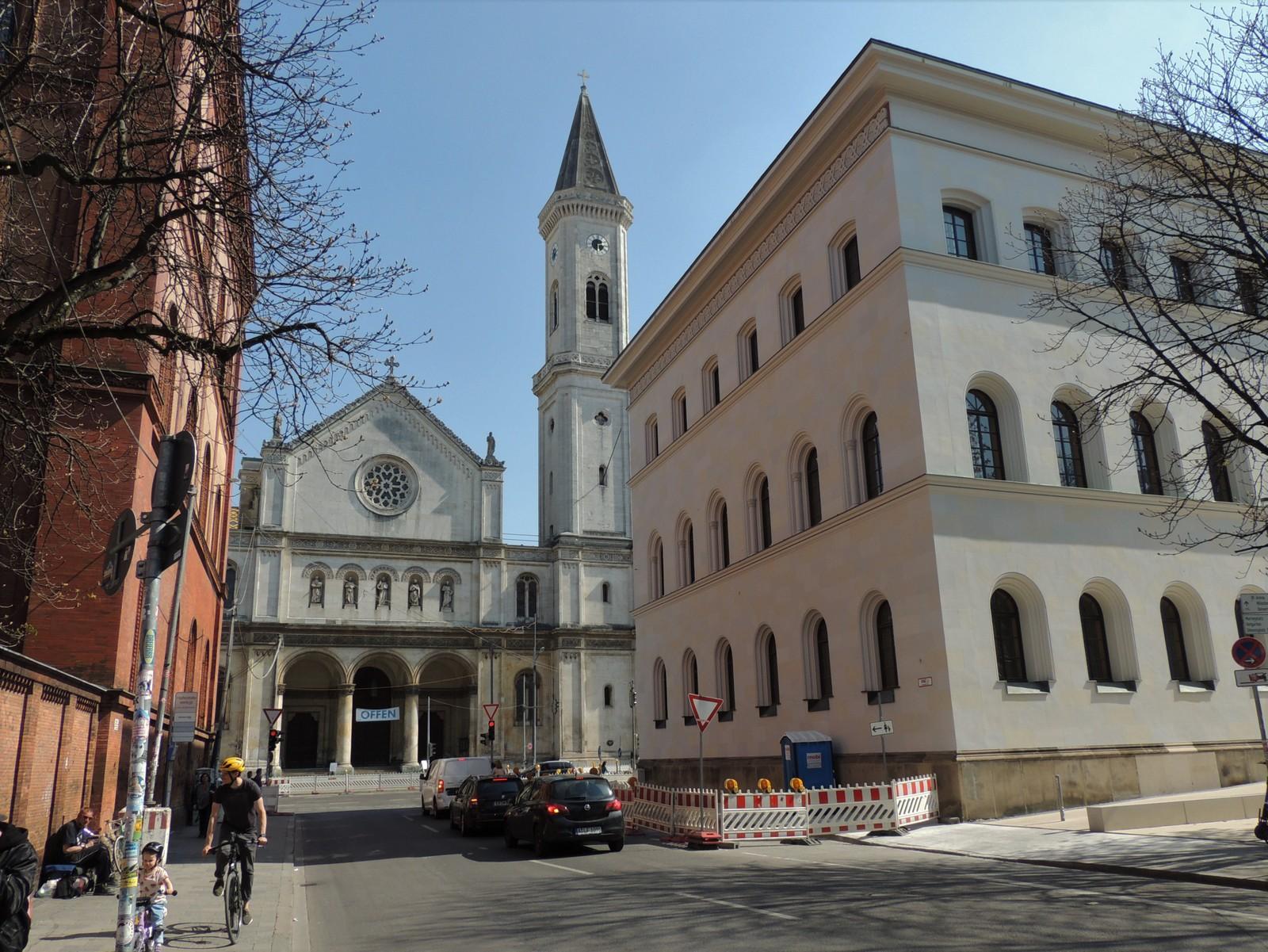 Ludwigskirche - Ludwigstraße - im Auftrag von Ludwig I. durch Friedrich Wilhelm Gärtner erbaut