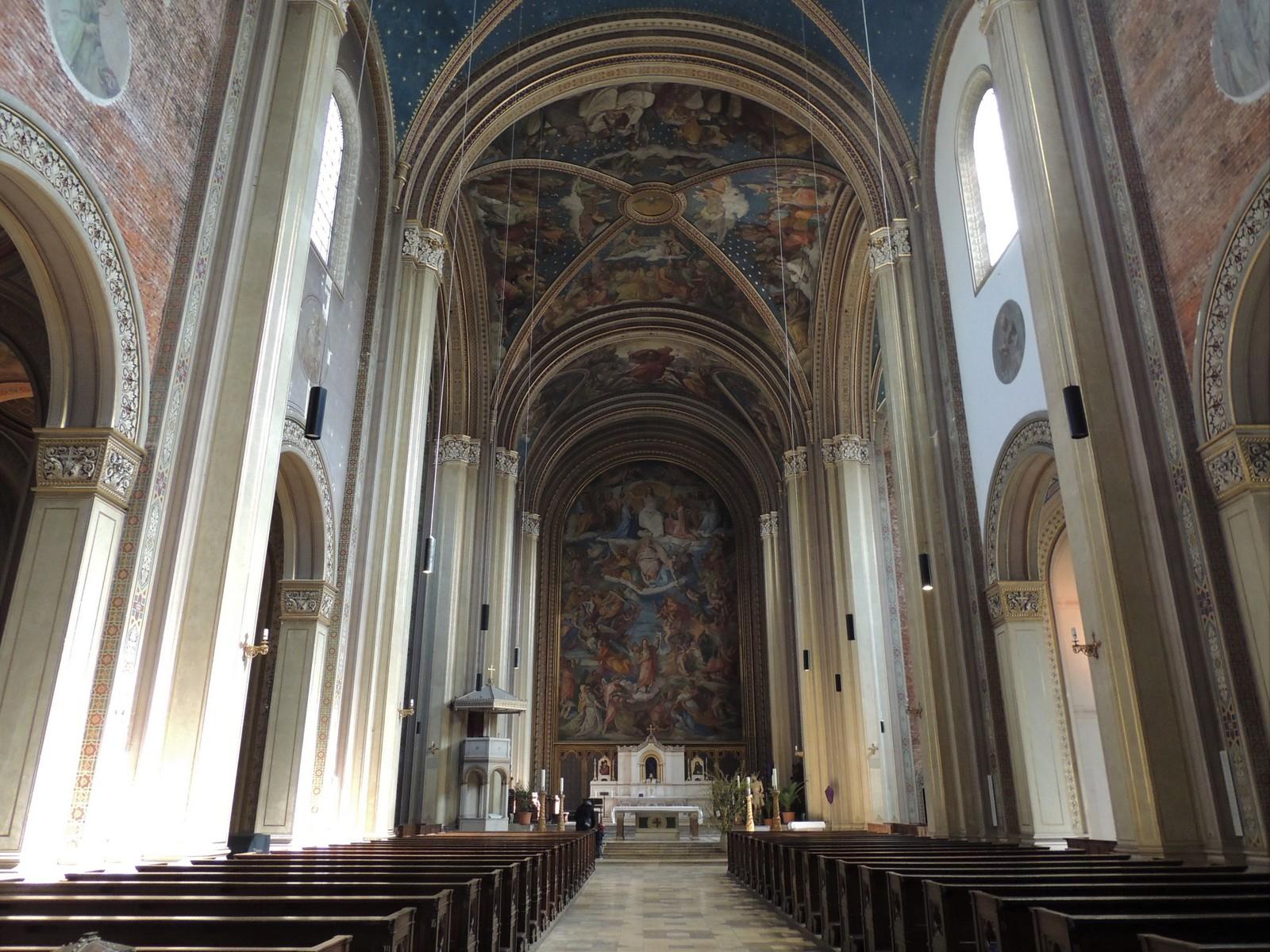 Das Jüngste Gericht von Peter von Cornelius - St. Ludwig München
