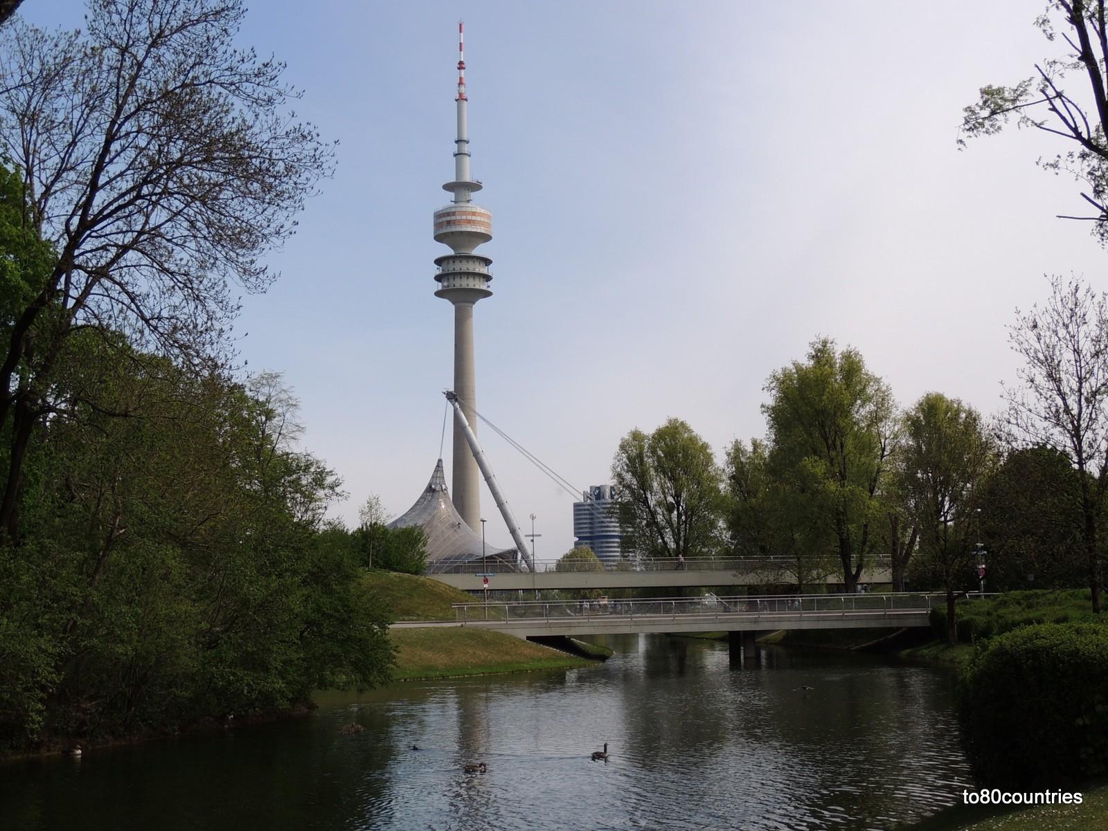 Olympiapark München - Fernsehturm