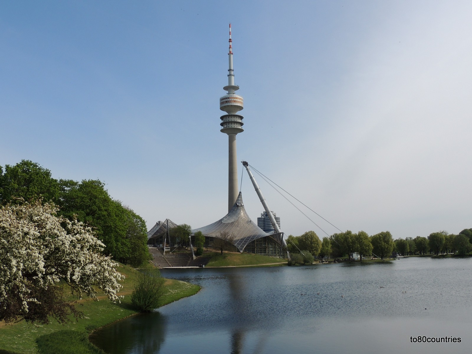 Olympiapark München - Olympiasee