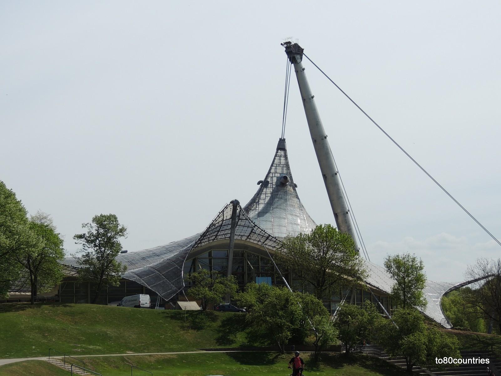 Olympiapark München - Schwimmhalle
