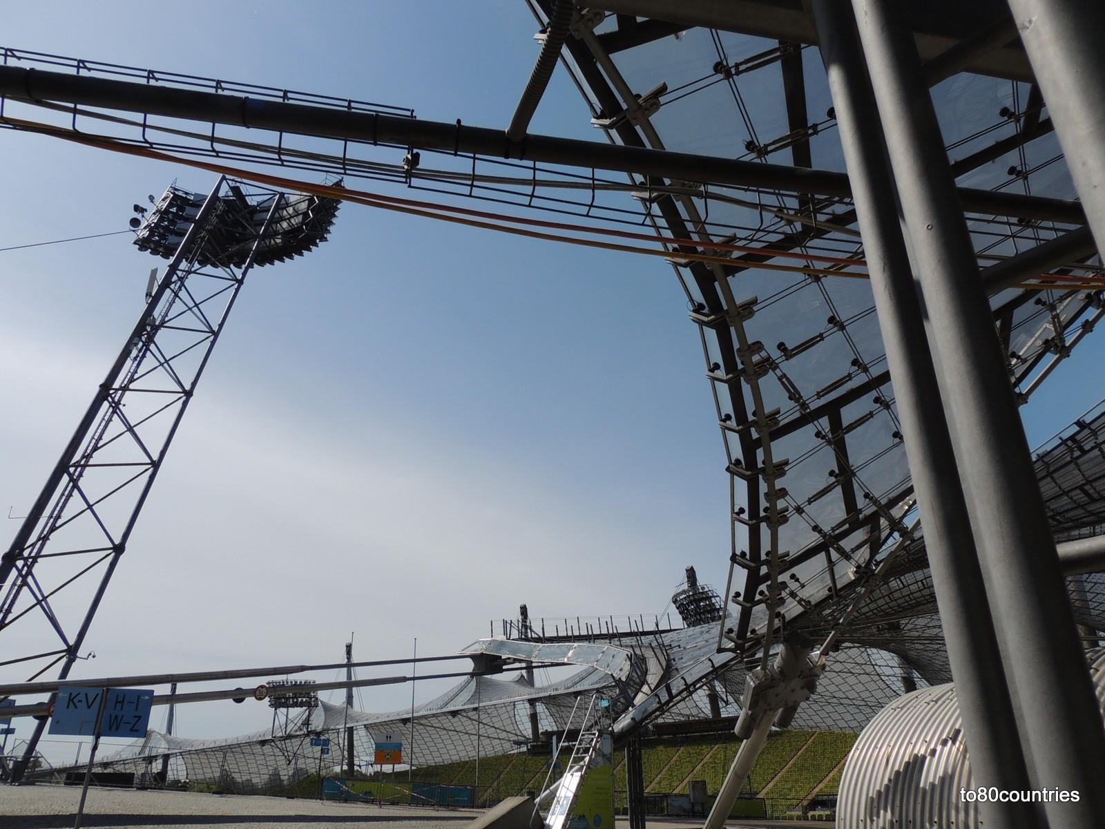 Olympiapark München - Im Olympiastadion