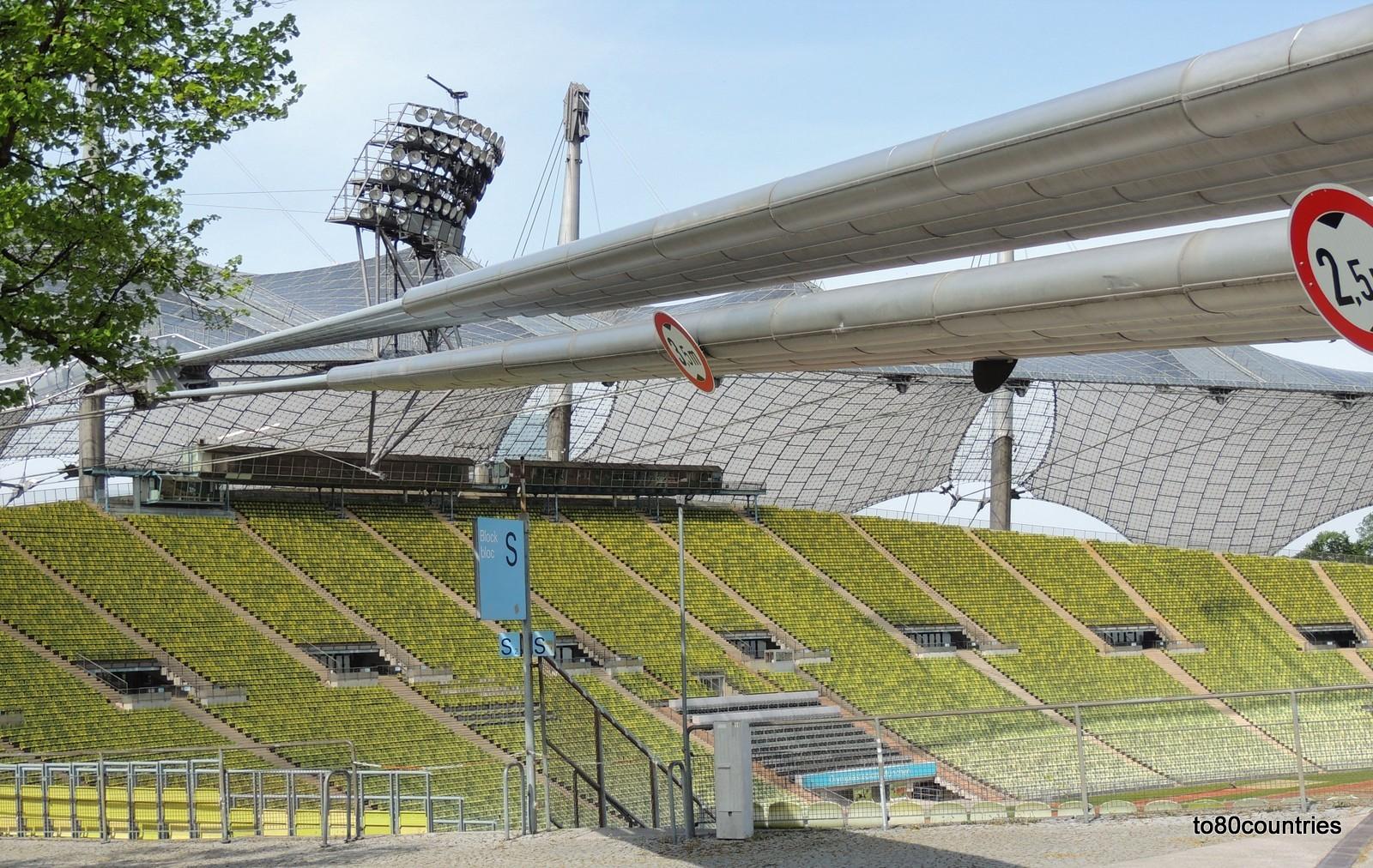 Olympiapark München - Haupttribüne