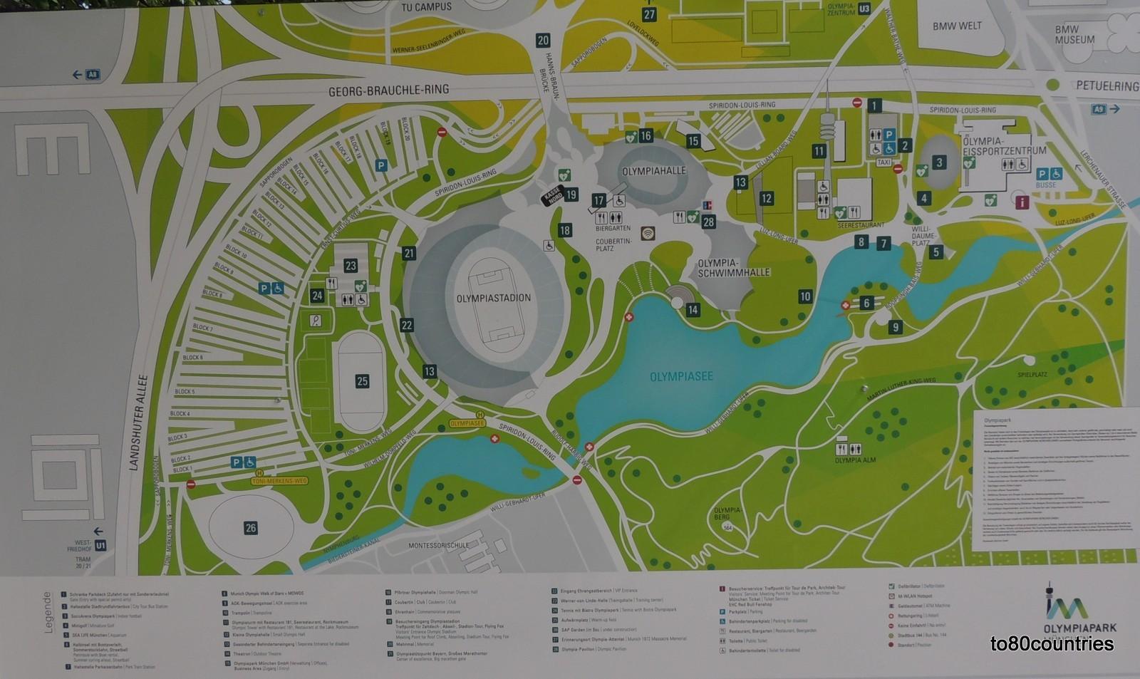 Plan Olympiapark München