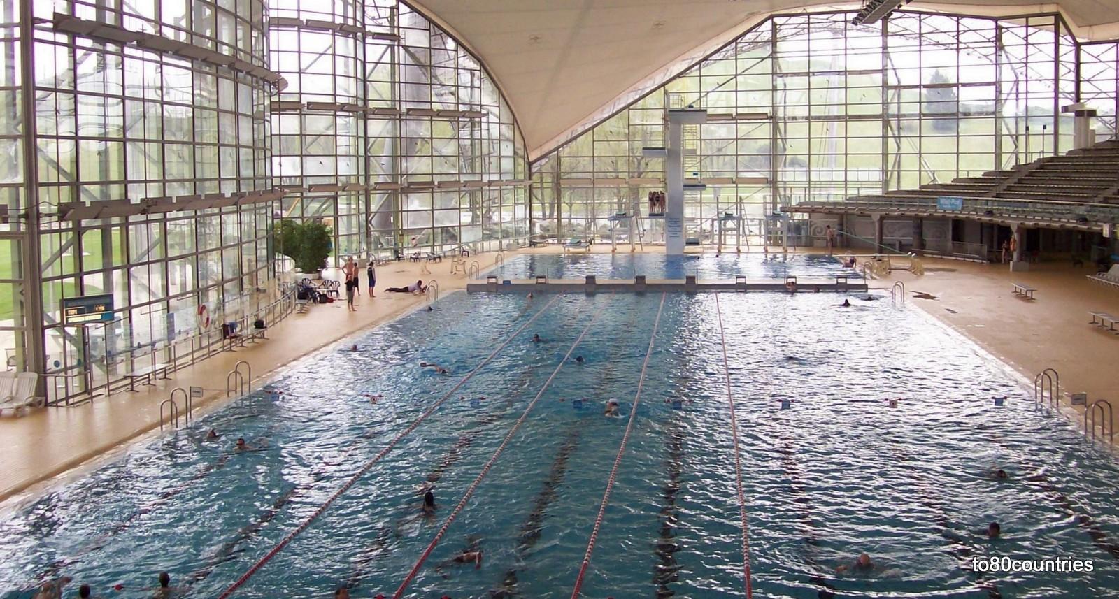 Olympiapark München - Olympiaschwimmhalle