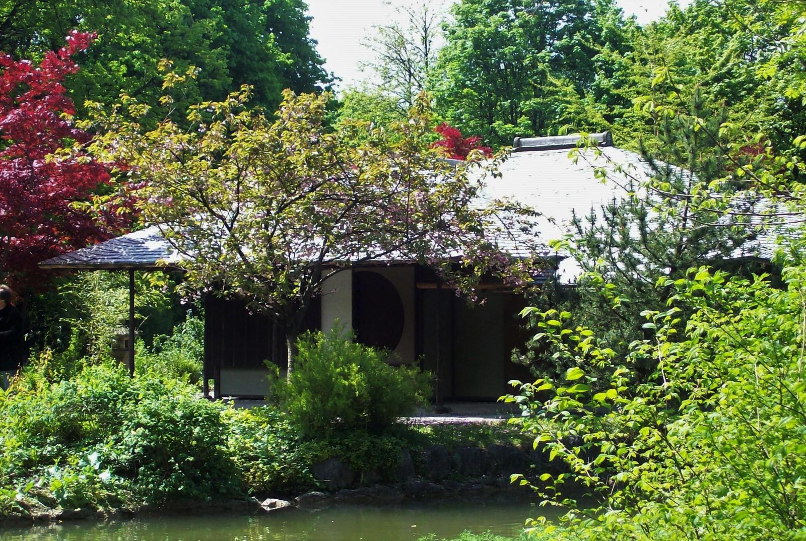 Der Englische Garten - Japanisches Teehaus