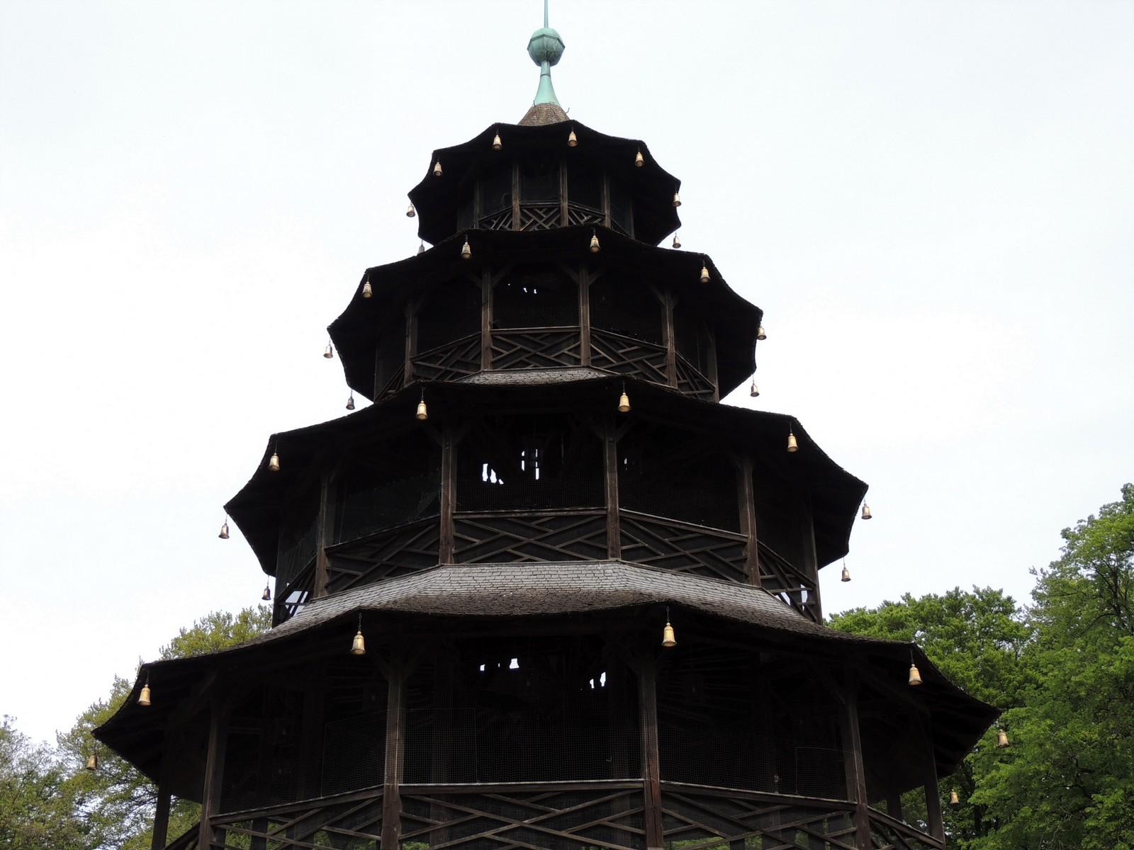 Der Englische Garten - Chinesischer Turm
