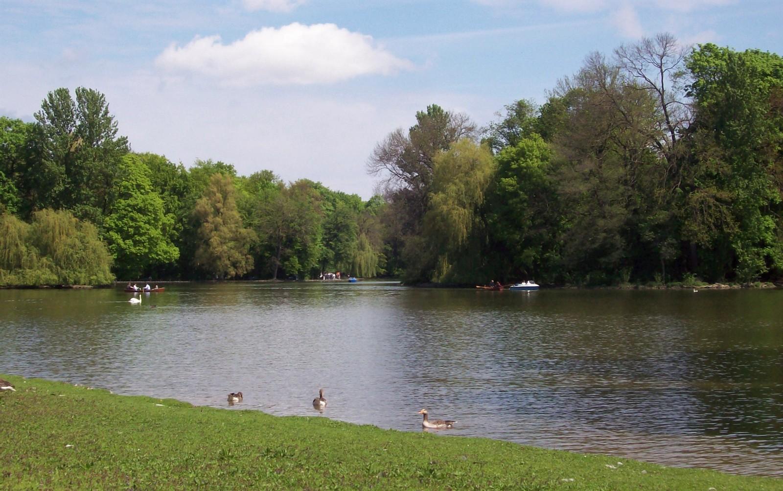 Der Englische Garten - Kleinhesseloher See