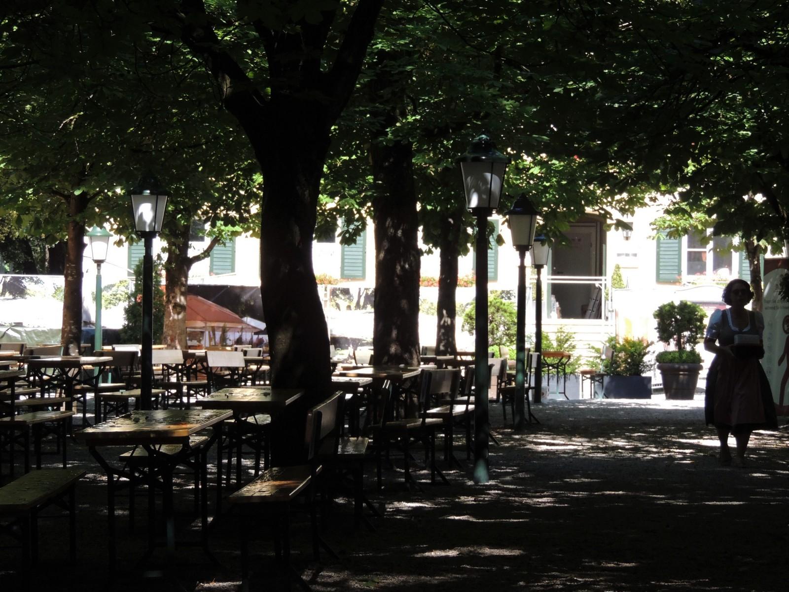 Der Englische Garten - Biergarten am Aumeister