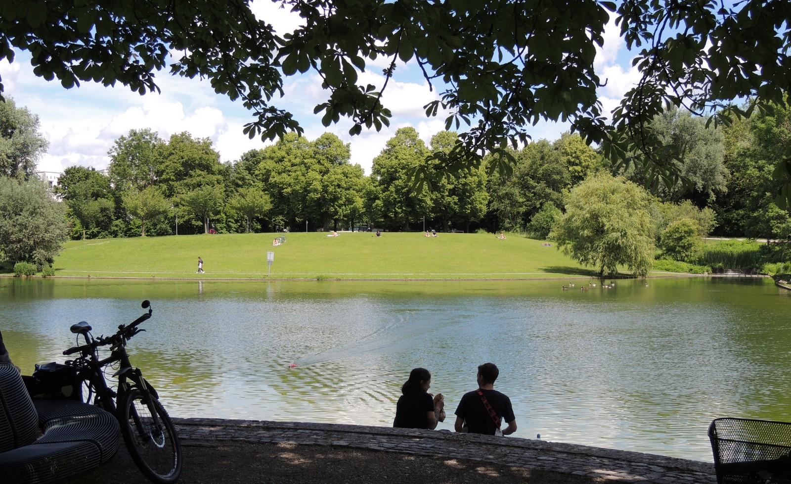 Mollsee im Westpark München