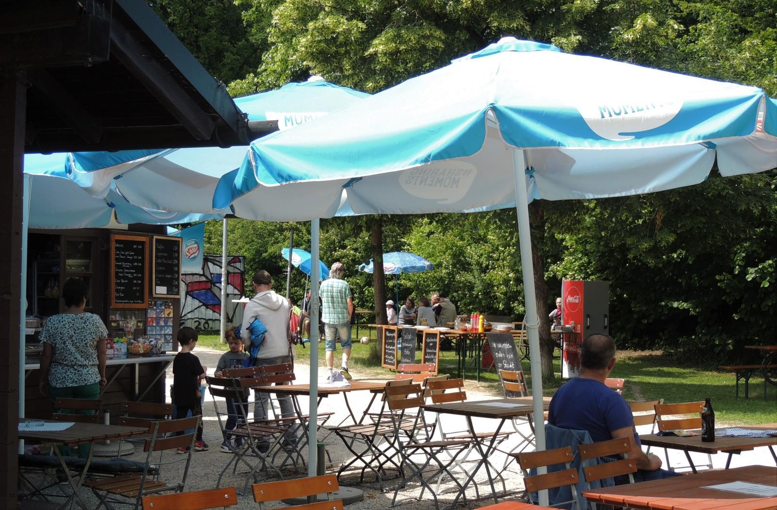 Kiosk am Wolkenturm - Westpark München