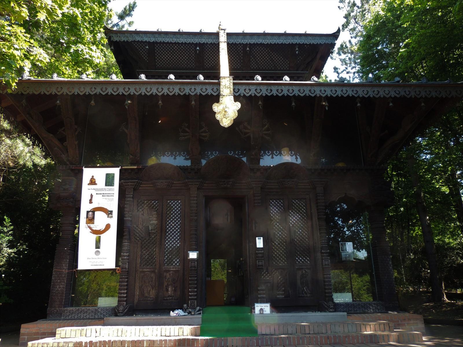 Nepalesische Friedenspagode - Westpark