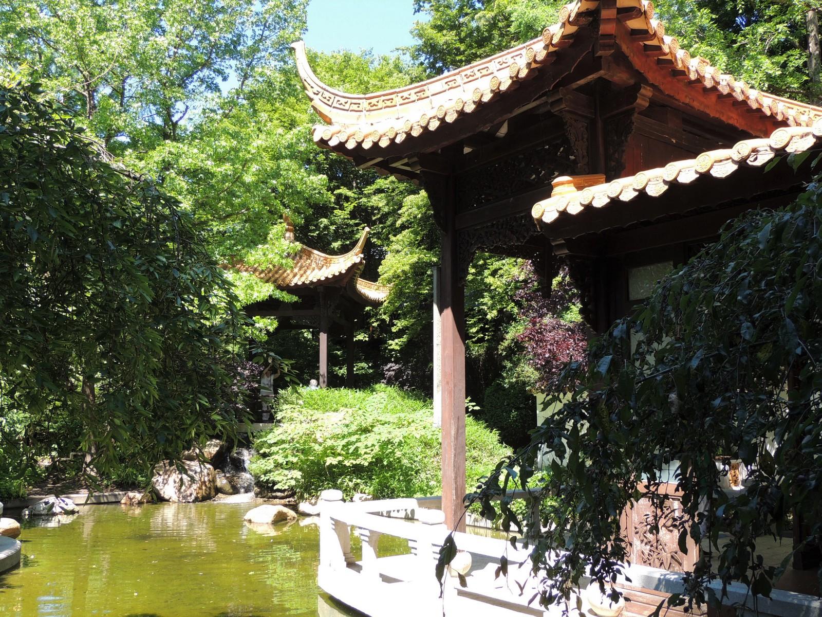 Chinesischer Garten im Westpark München