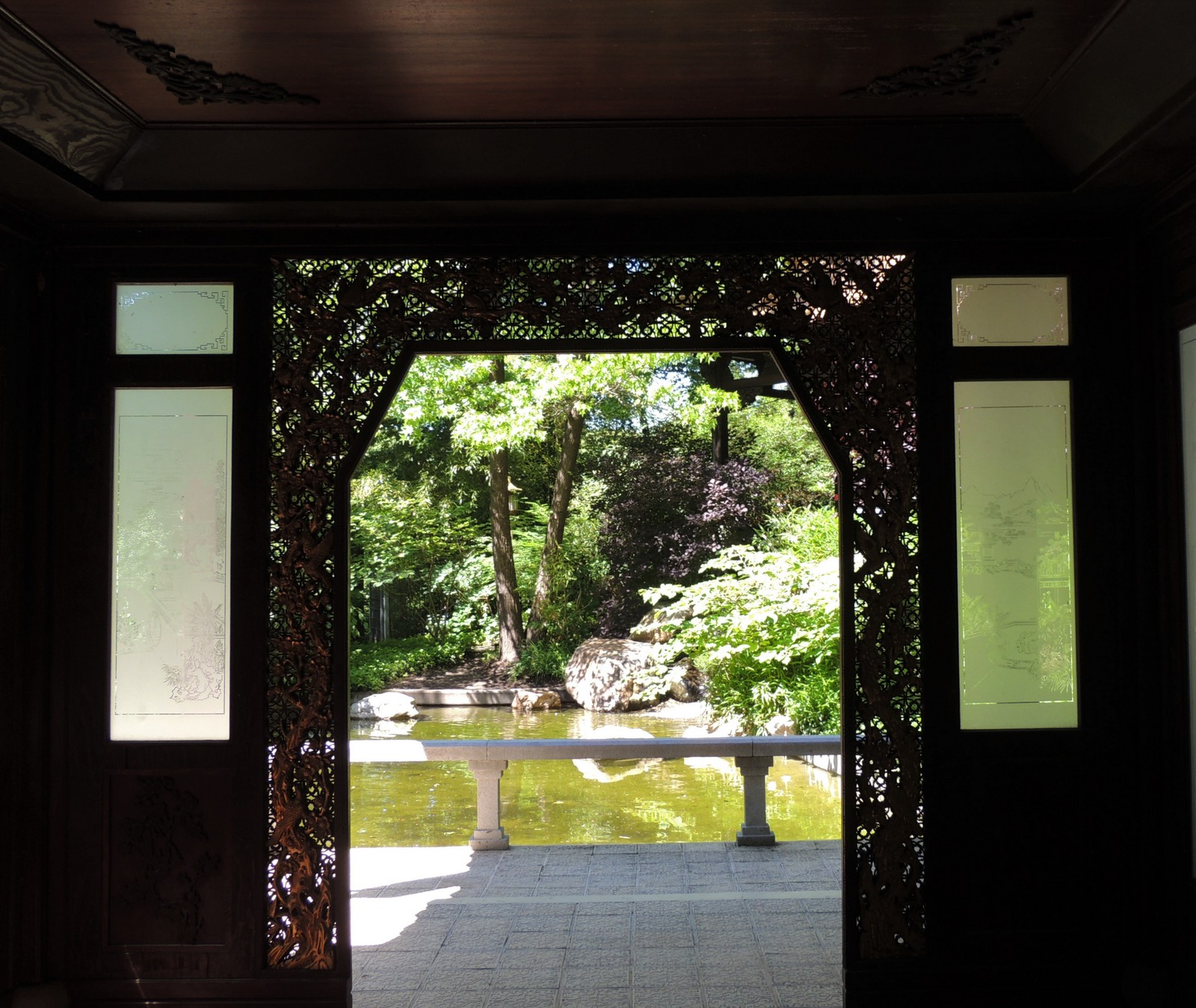 Pavillon im Chinesischen Garten - Westpark München