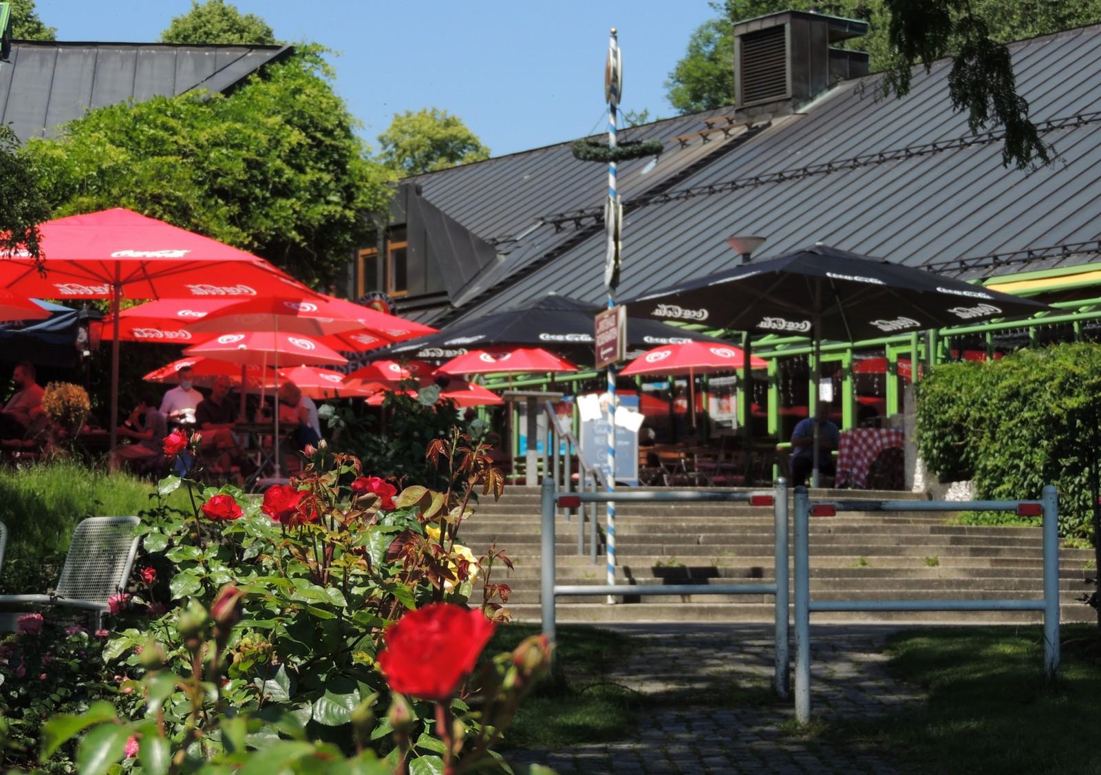 Gasthaus am Rosengarten im Westpark