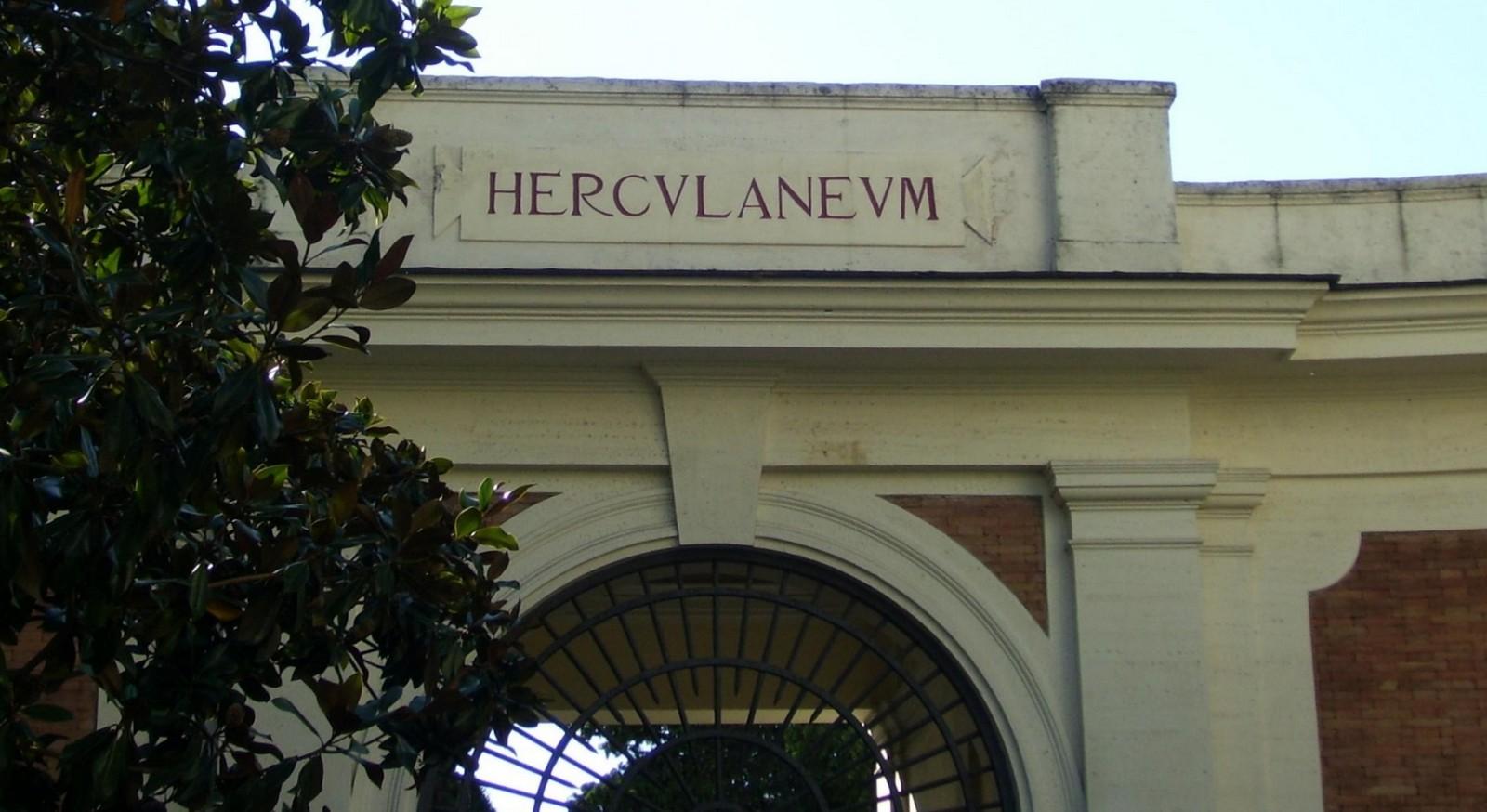 Heculaneum - Eingang