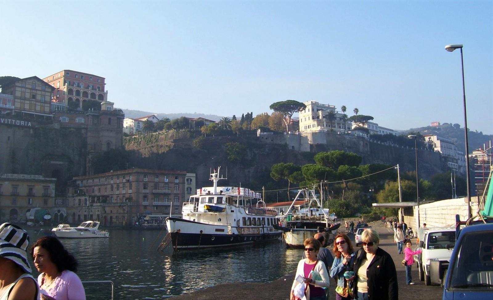 Marina Piccola von Sorrent - dem Startpunkt der Amalfitana