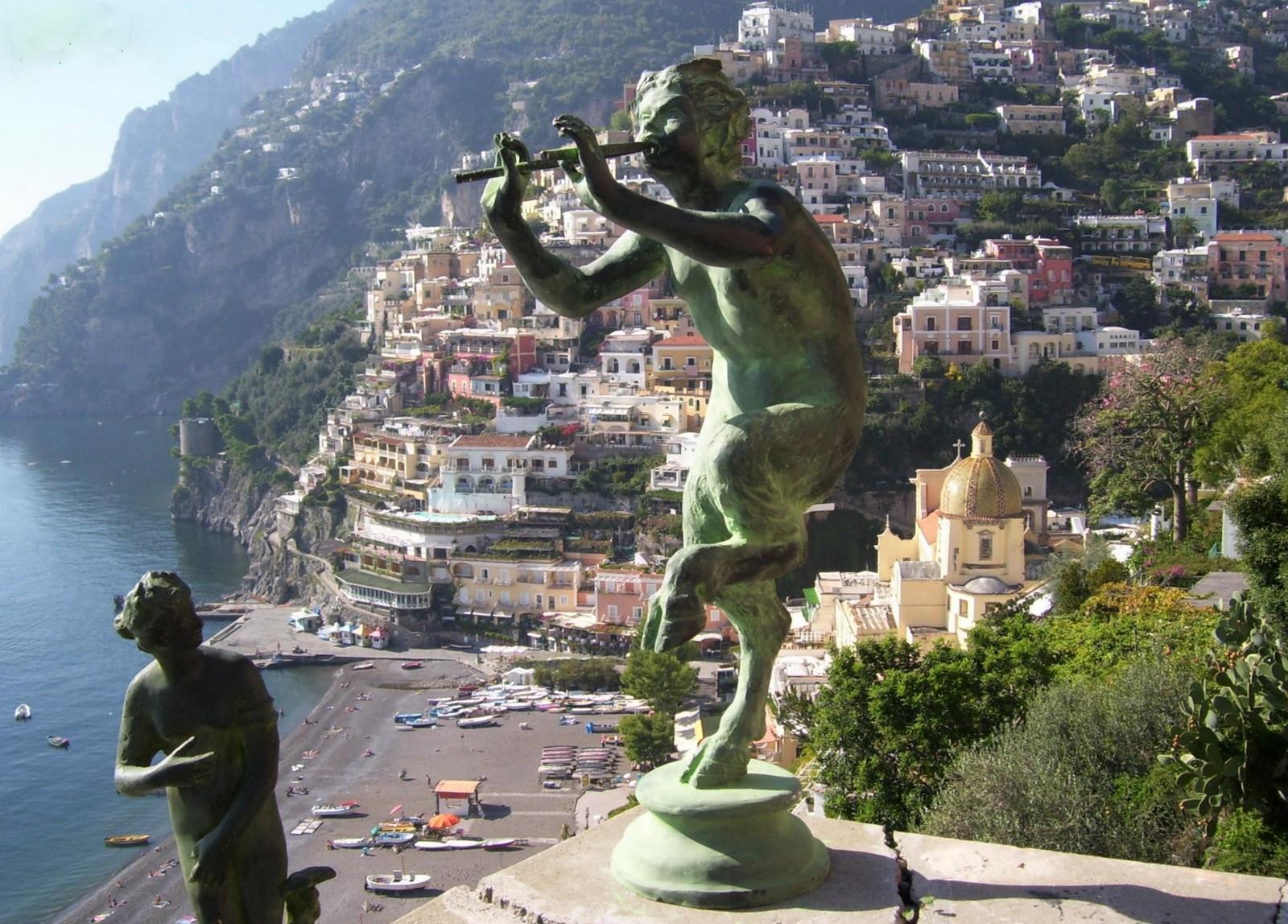 Positano an der Amalfitana