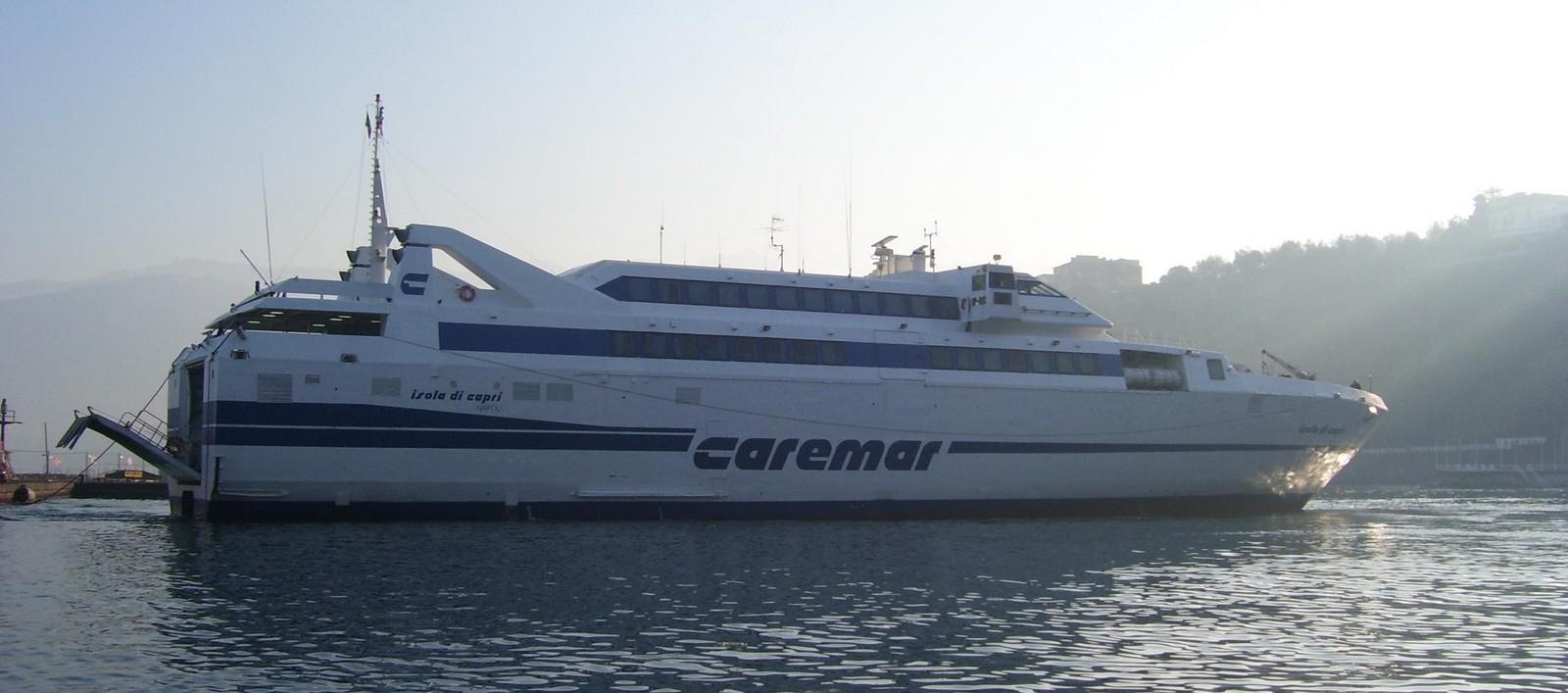 Carremar-Fähre Sorrent - Capri