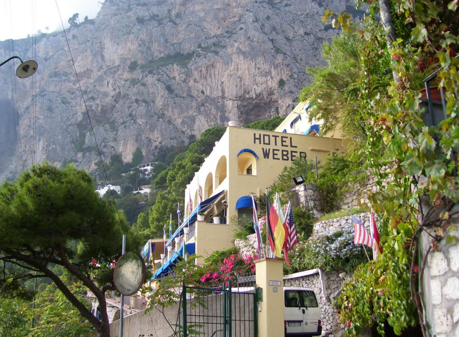 Capri - Hotel Weber Ambassador - Marina Piccola